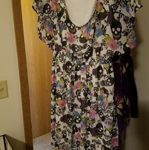 Skull Pattern Torrid Dress